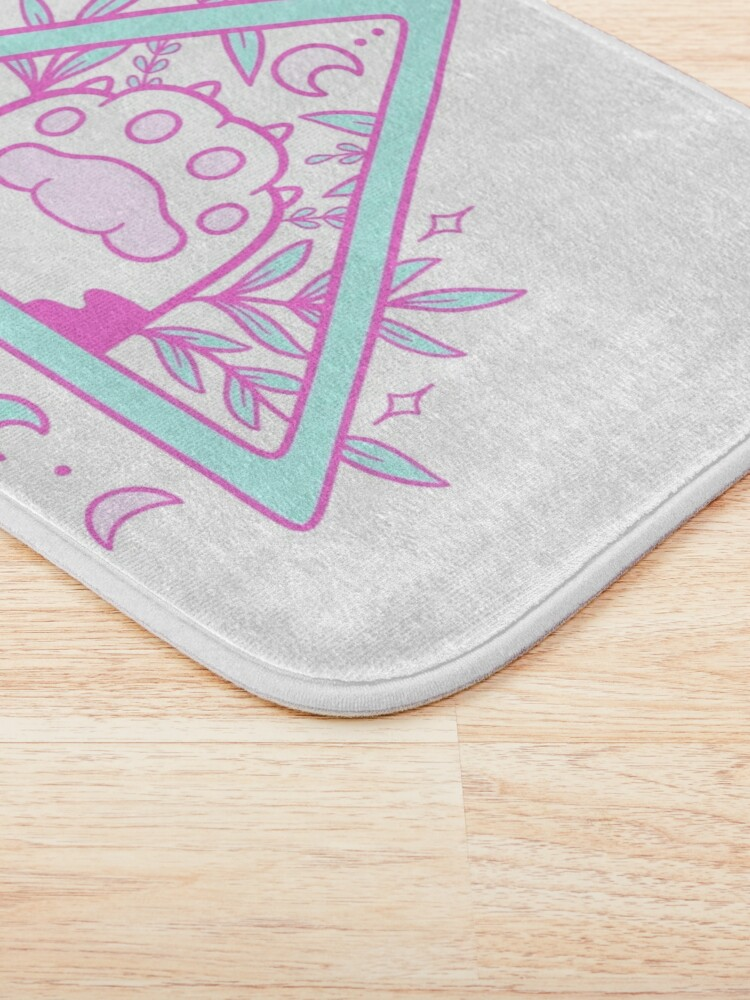 Alternate view of Witchy Cat Paw 02 Bath Mat