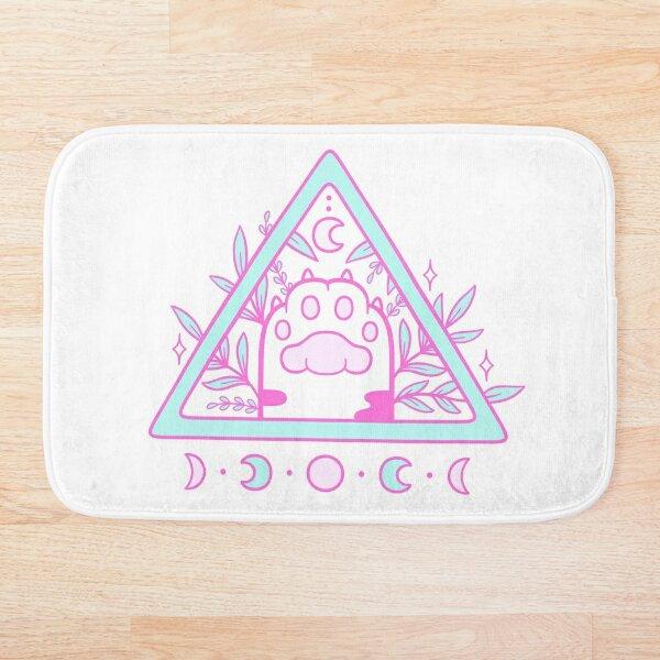 Witchy Cat Paw 02 Bath Mat