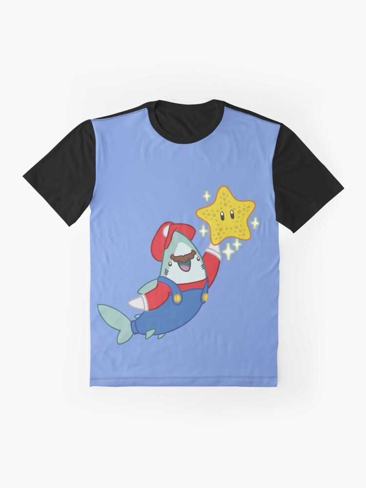 Alternate view of GamerShark // MAR10 Shark Graphic T-Shirt