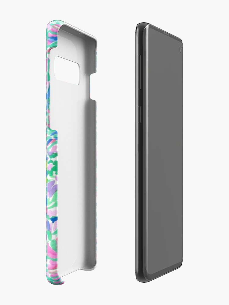 Alternate view of lilly pulitzer watercolor print Case & Skin for Samsung Galaxy