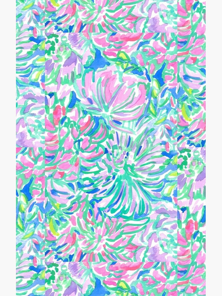 lilly pulitzer watercolor print by katlasher