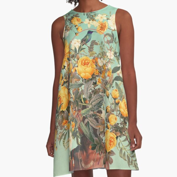 You Loved me a Thousand Summers ago A-Line Dress