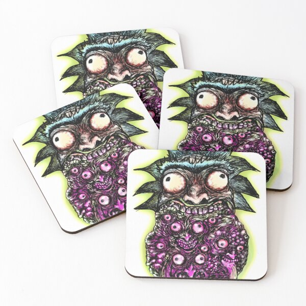 The infinite Rick Coasters (Set of 4)