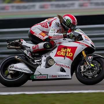 Simoncelli in Assen after the crash 2011 by corsefoto
