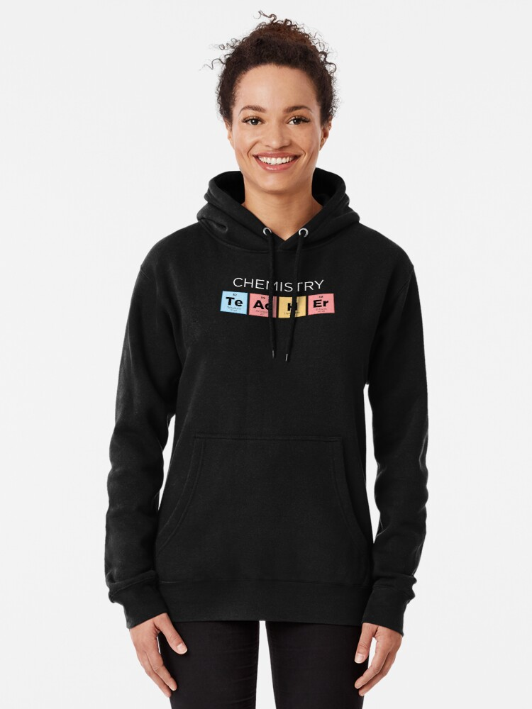 Woman Trust Me I Am A Chemistry Teacher Long Sleeve Funny Drawstring Sweater
