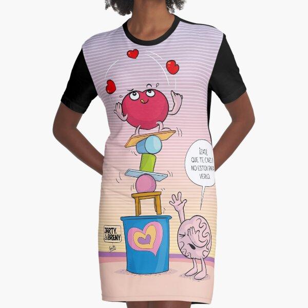 J&B - Equilibrista Vestido camiseta