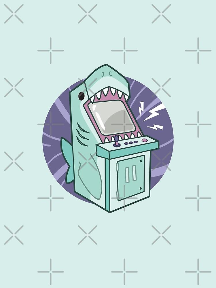 Sharkade Machine by bytesizetreas