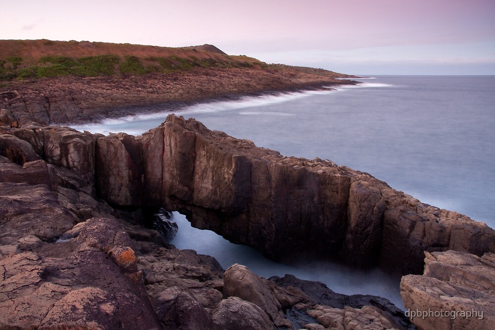 rock arch / shellharbour by dpbphotography