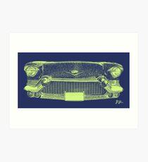 Cadillac Grill Art Print