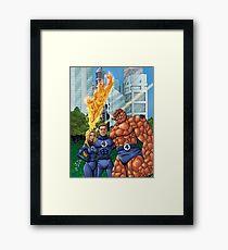 Fantastic Four Framed Print