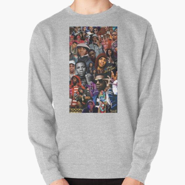 A Boogie Wit Da Hoodie Collage Pullover Sweatshirt