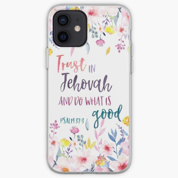 Trust in Jehovah and do what is good 2017 Yeartext iPhone Soft Case