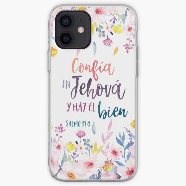 Confia en Jehovah y haz el bien - 2017 Yeartext Spanish iPhone Soft Case