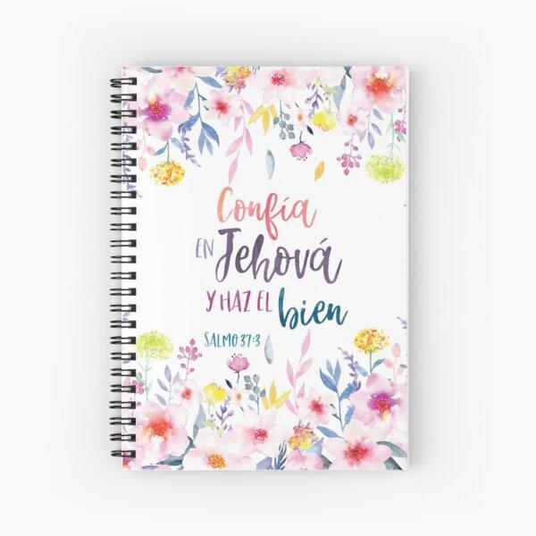Confia en Jehovah y haz el bien - 2017 Yeartext Spanish Cuaderno de espiral