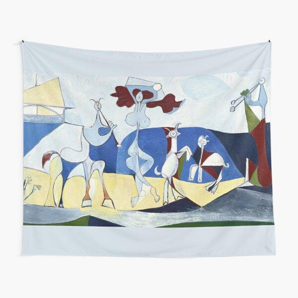 Pablo Picasso Joy of Life (Joie De Vivire) 1946 Artwork Tapestry