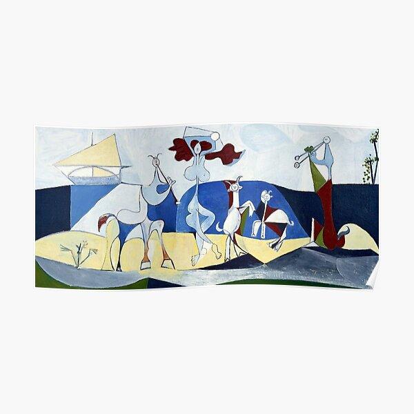 Pablo Picasso Joy of Life (Joie De Vivire) 1946 Artwork Poster