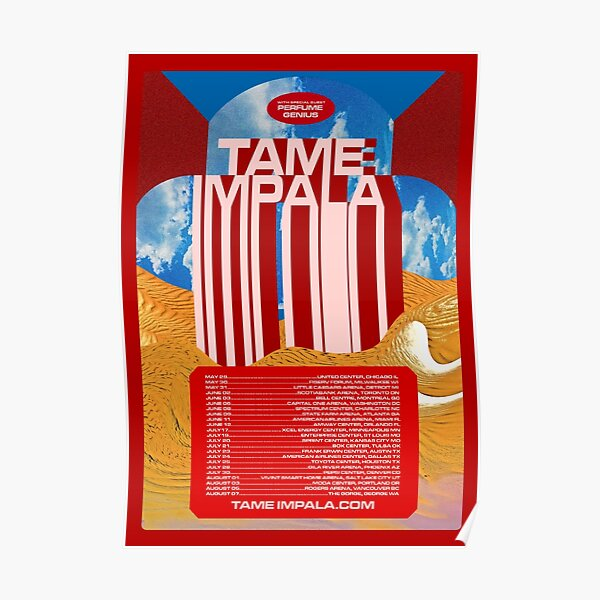 Tame Tour Poster