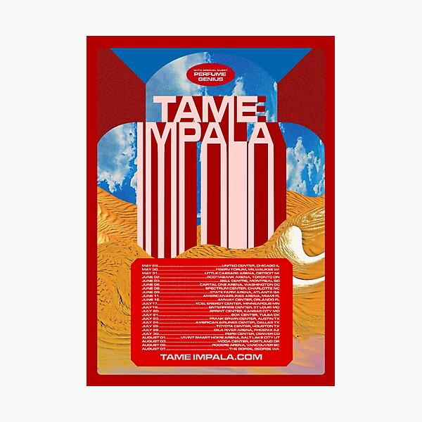 Tame Tour Photographic Print