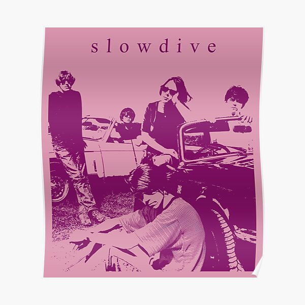 Slowdive // Fanart Poster