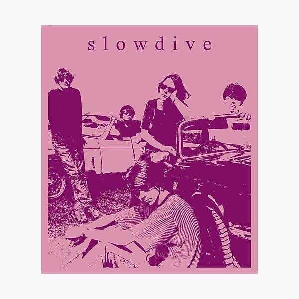 Slowdive // Fanart Lámina fotográfica