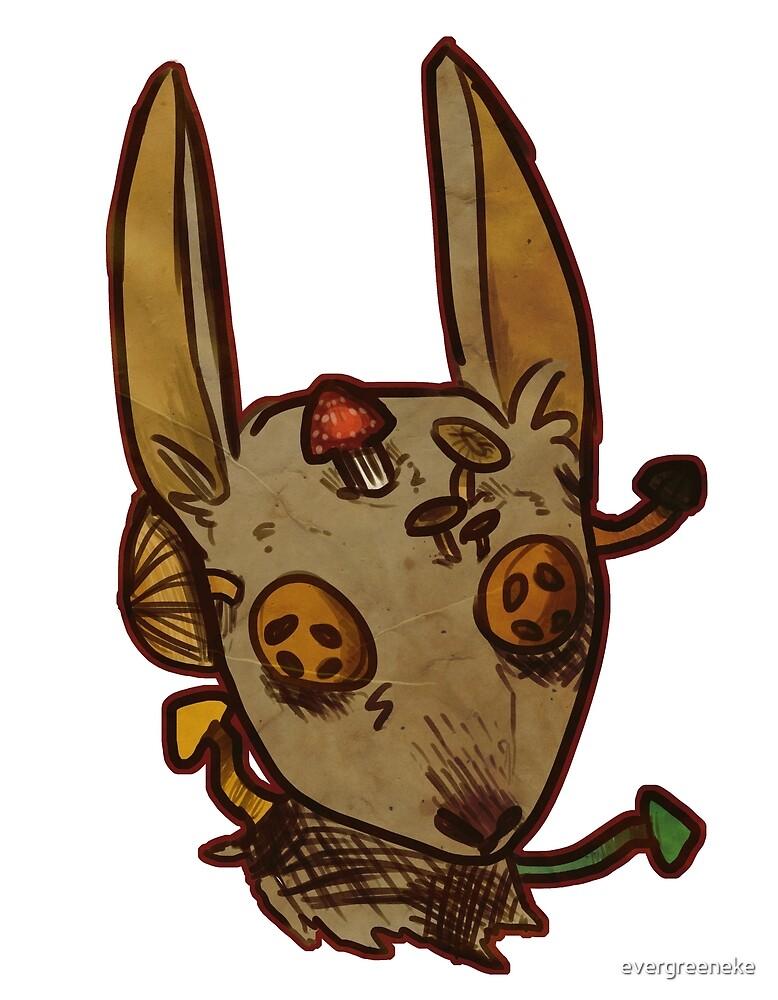 The Good Rabbit by evergreeneke
