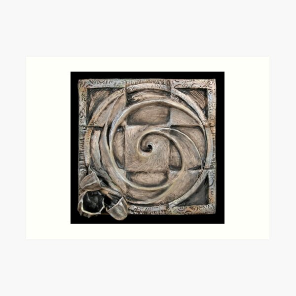 Spiral one: unified source Art Print