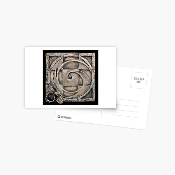 Spiral one: unified source Postcard