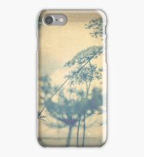 Chinoiserie Queen Anne's Lace Blue iPhone Case/Skin