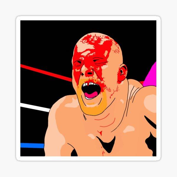 Crimson Mask, Stone Cold vs Bret Hart Sticker