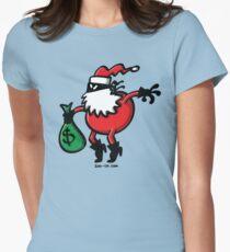 Santa Claus or Thief? Womens Fitted T-Shirt