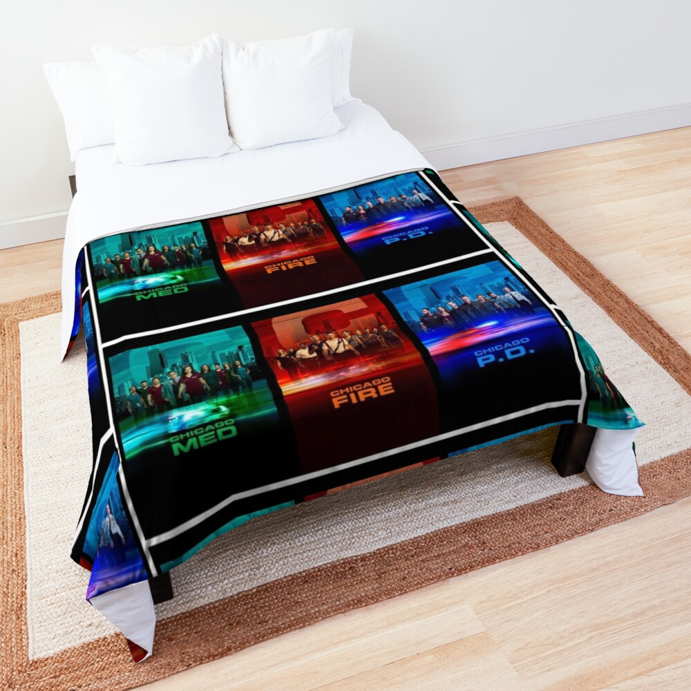 Chicago fire med PD Chicago one Comforter
