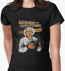 Bernie For The Future Women's Fitted T-Shirt