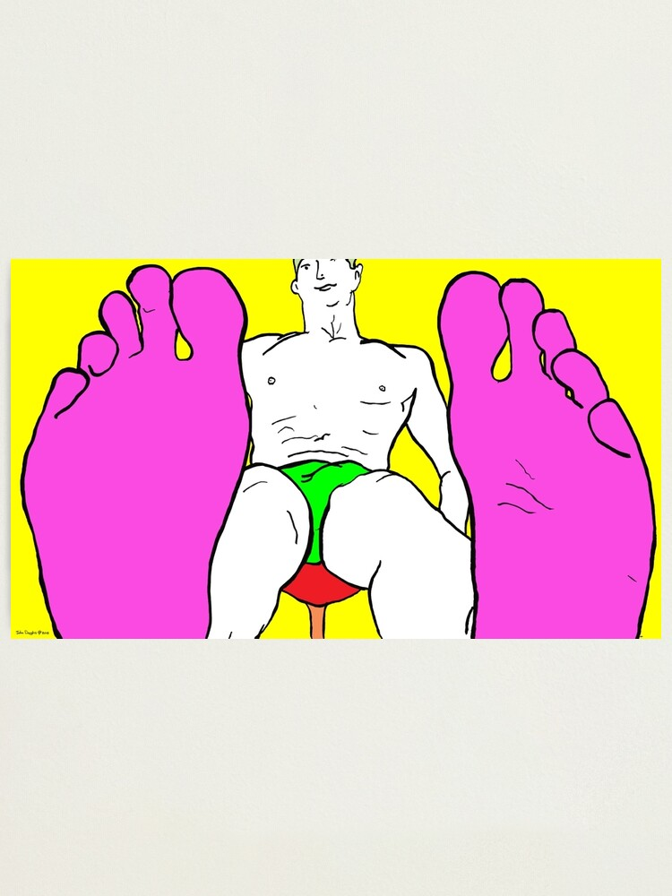 Alternate view of Best Foot Forward Photographic Print