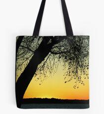 Sandhills Sunset 1 Tote Bag