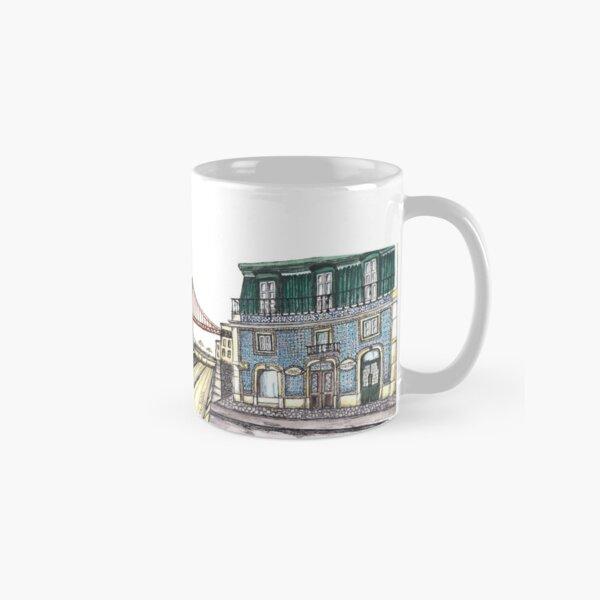 The streets of Lisbon Classic Mug