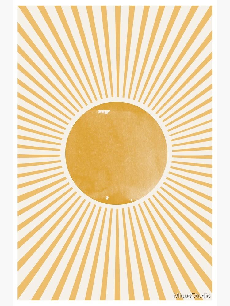 Retro Sun by MiuusStudio