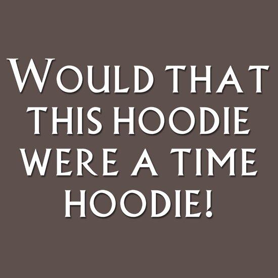 TShirtGifter presents: Time Hoodie!