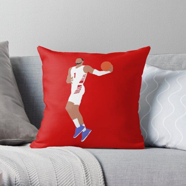 Obi Toppin Dayton Dunk Throw Pillow
