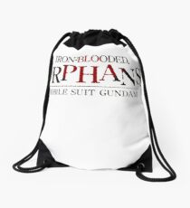 Iron Blooded Orphans Drawstring Bag