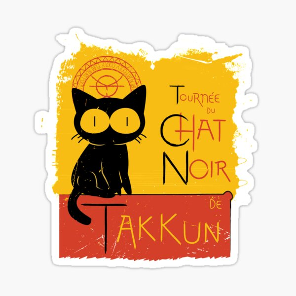 Chat Noir de Takkun Sticker