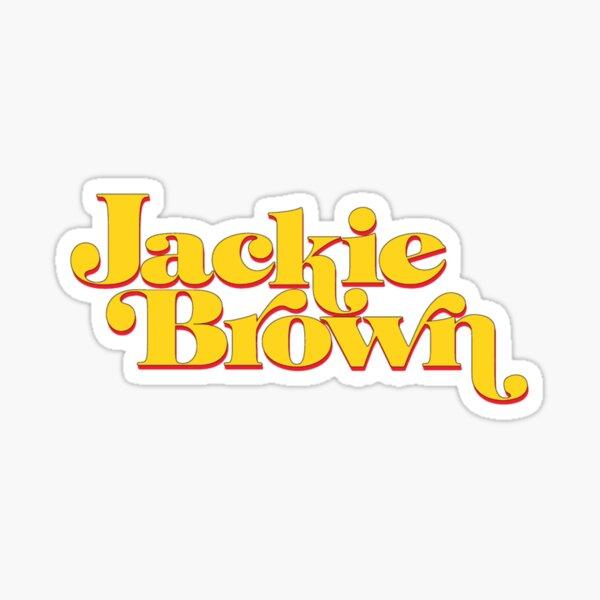 jackie brown Sticker