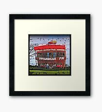 Lets have a sing-a-long at the Ettamogah Pub Framed Print