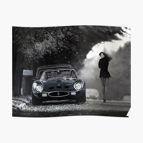 Mlle Ferrari. 250 GTO Poster