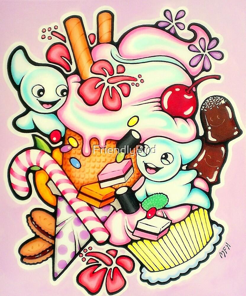 Sugar sweet by FriendlyBird