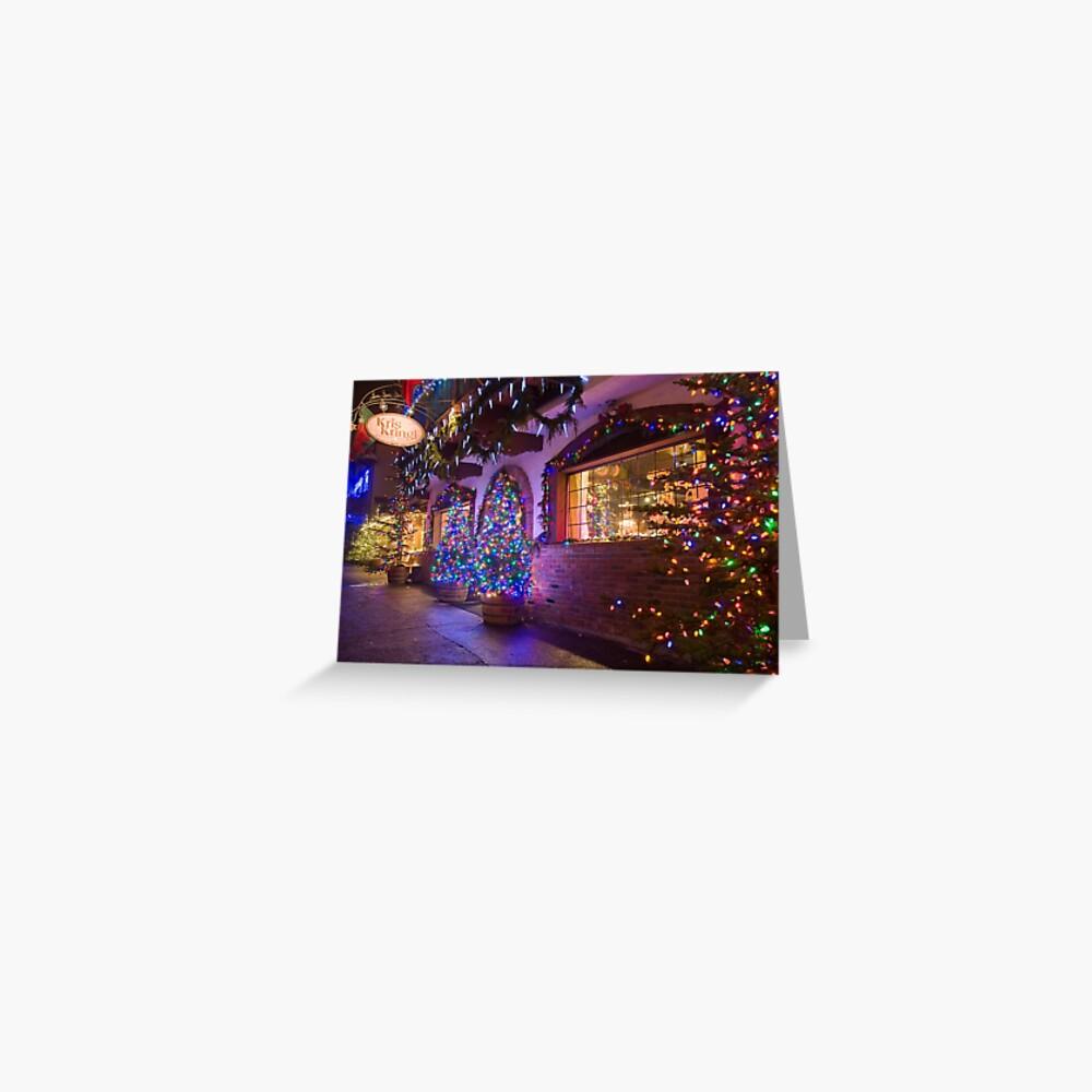 Kris Kringle Greeting Card