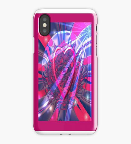 Heart In A Bubble Fractal - (iPhone Case) iPhone Case/Skin