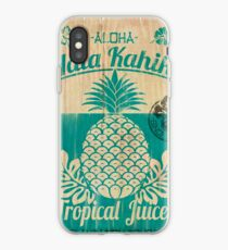 S/S 2015 - Pineapples - Hala Kahiki Juice Stand iPhone Case