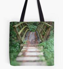 Forest Bridge Tote Bag