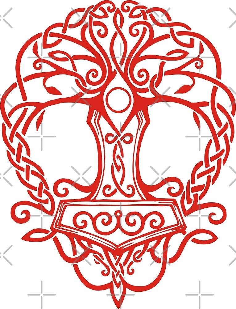 Yggdrasil - Yrminsul by wikingershirts