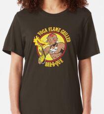 Yoga Flame Grilled BBQ Slim Fit T-Shirt